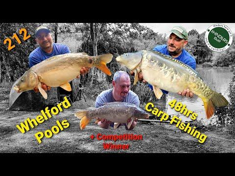 212 - Whelford Pools. 48Hrs Carp Fishing + Comp Winner