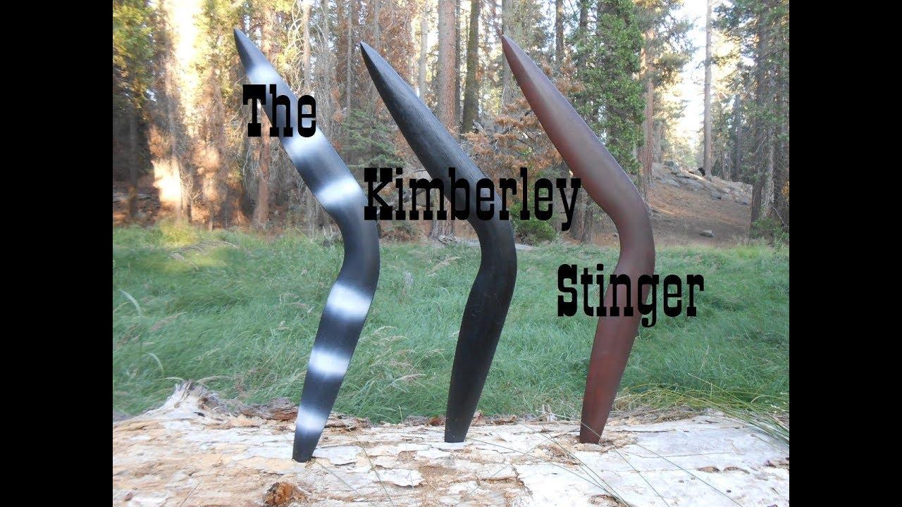 """The Kimberley Stinger -  """"Fighting Boomerang"""""""