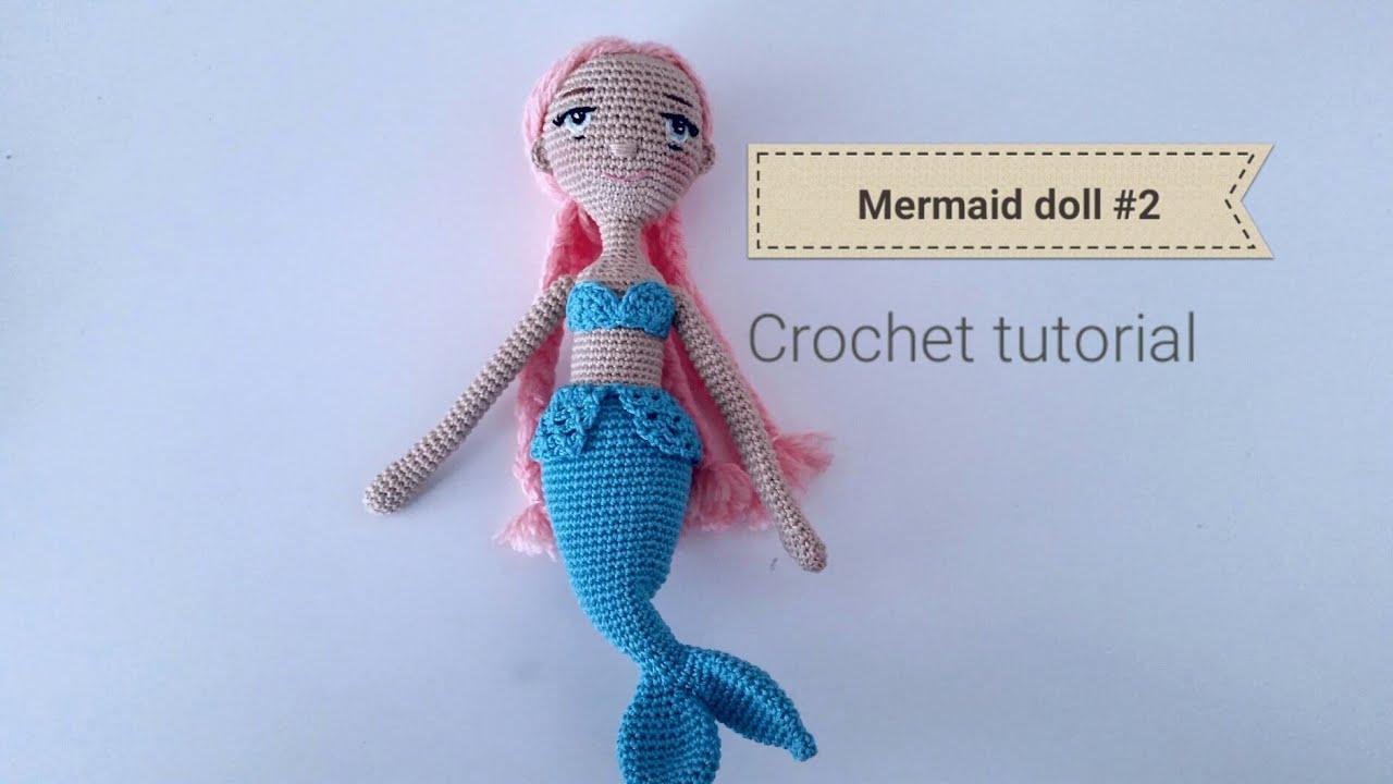 Amigurumi Mermaid, Crochet Mermaid, Mermaid Doll, Crochet Sea ... | 720x1280