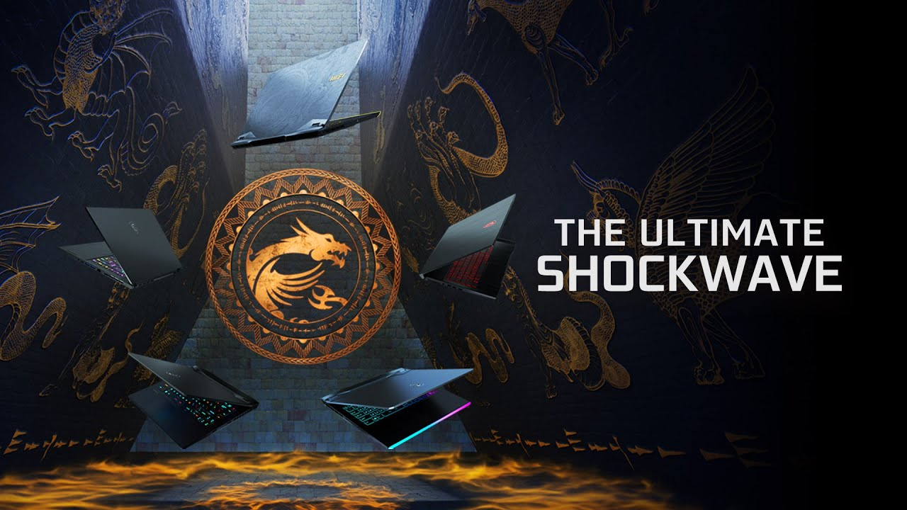 The Ultimate Shockwave - The All New MSI GeForce RTX 30 Series Gaming Laptop   MSI