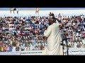 sheikh kenyawi iyo stadium koonis shacabka oo soo buuxiyay koonis Cafi Walaalka
