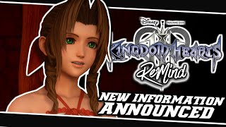 🤗TONS OF NEW INFORMATION ANNOUNCED!!🤩 | Kingdom Hearts 3 ReMind Dlc - (News)