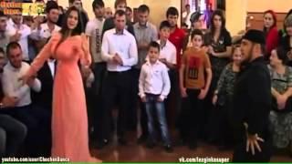 Чеченская Лезгинка по Современному с Красавицами 2015