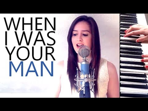 When I Was Your Man - Bruno Mars (Cover Video by Holly Sergeant)
