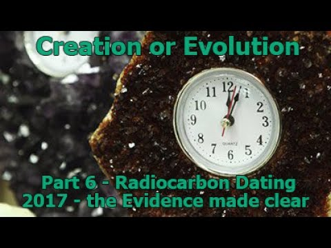 Carbon dating against evolution