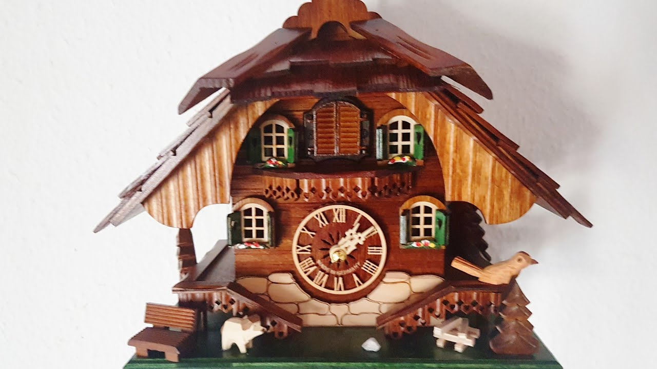 Best Cuckoo clock Made in Germany Black Forest Available on Amazon