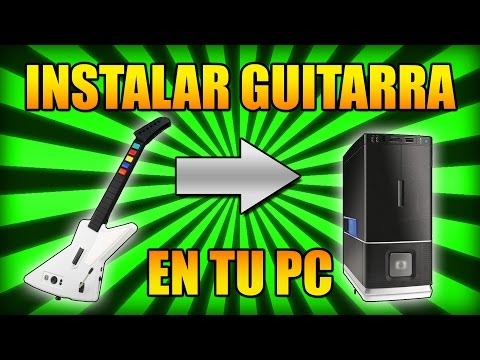 Tutorial - How to install Guitar Hero Guitar controller (X-Plorer) on PC