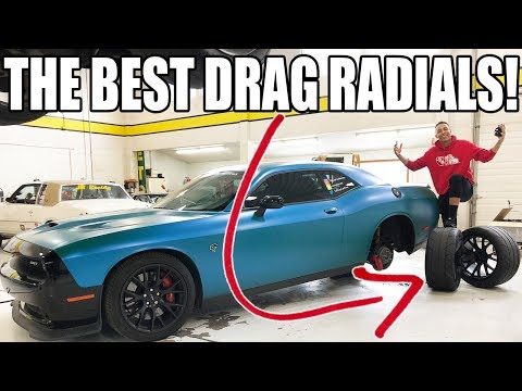 The Best Drag Radials To Buy For A Hellcat!! I Bought & Got Em' & Here They Go..