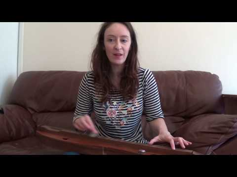 True Colours on Appalachian Mountain Dulcimer  tutorial  lesson with Gillian McCoy part 1