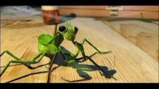 la parabola de la mantis