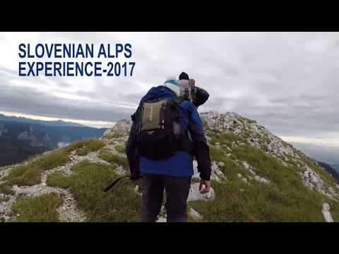 Slovenian Alps Experience 2017- GoPro Travel Video