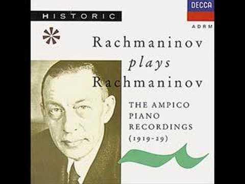 Rachmaninov Plays Rachmaninov - Prelude in G Minor