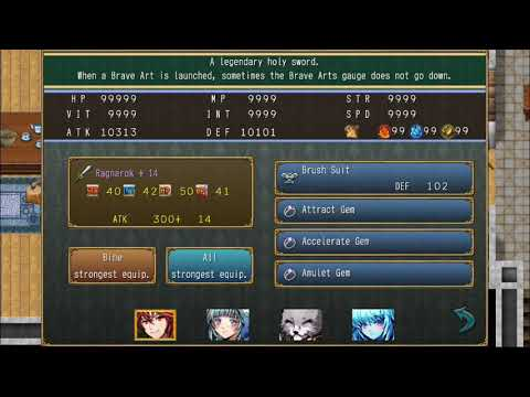 Antiquia Lost: Slightly Serious Secret Team (Hell Difficulty, No Summon Gems, No Party Casualties) |