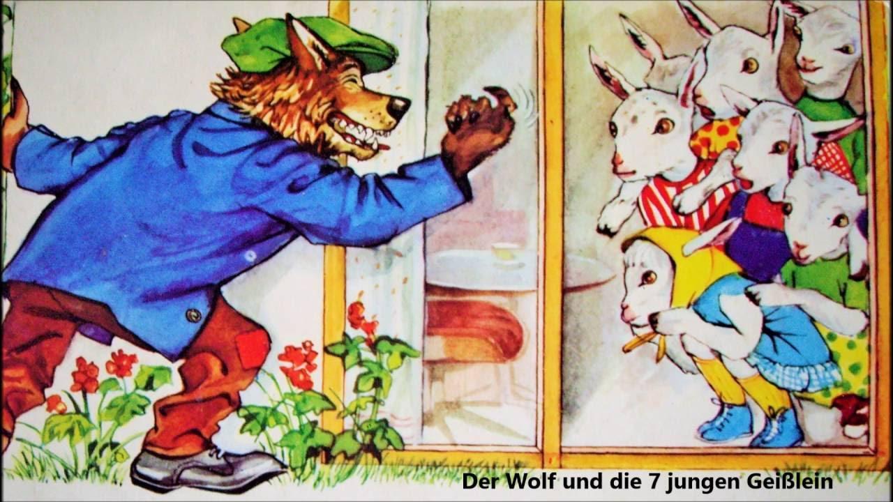 der wolf und die 7 geiГџlein