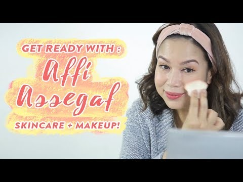 Get Ready With Affi Assegaf| Skincare + Makeup