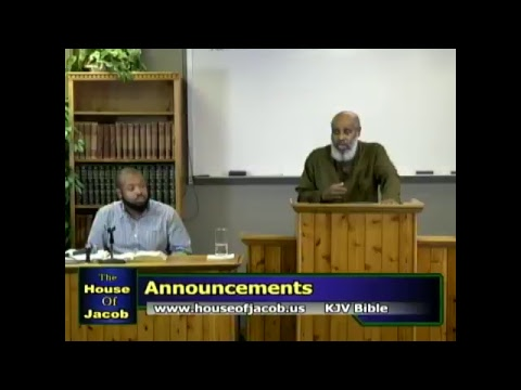 The House of Jacob Bible Study Class Live Stream