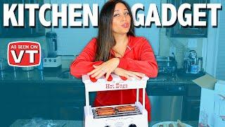 Hot Dog Kitchen Gadget Review   As Seen on Vivian Tries