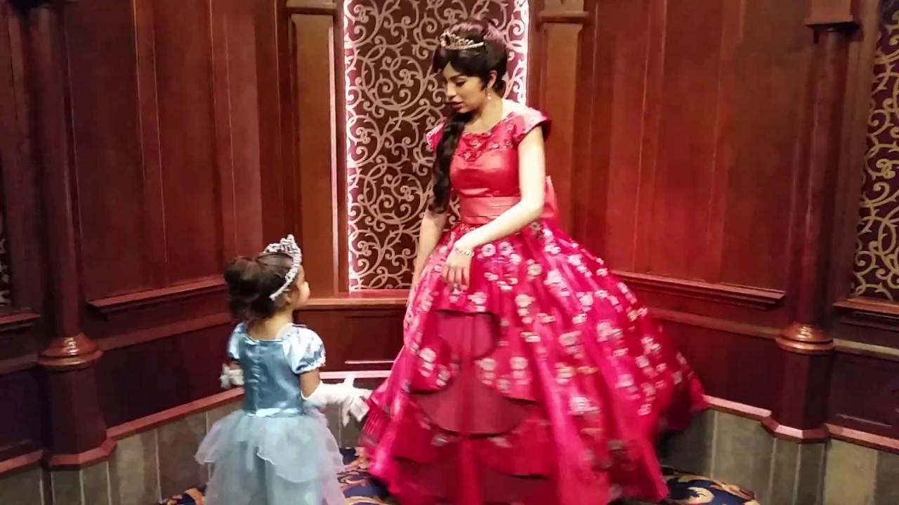 Meet and greet with princess elena at disneyland youtube meet and greet with princess elena at disneyland m4hsunfo