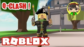 I TEST Q-CLASH! - THE GAME is finally FREE on ROBLOX
