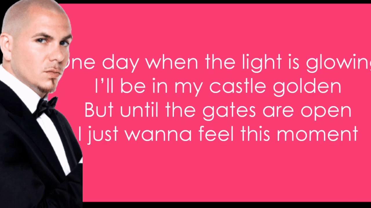 Feel This Moment Pitbull Ft Christina Aguilera Lyrics Youtube