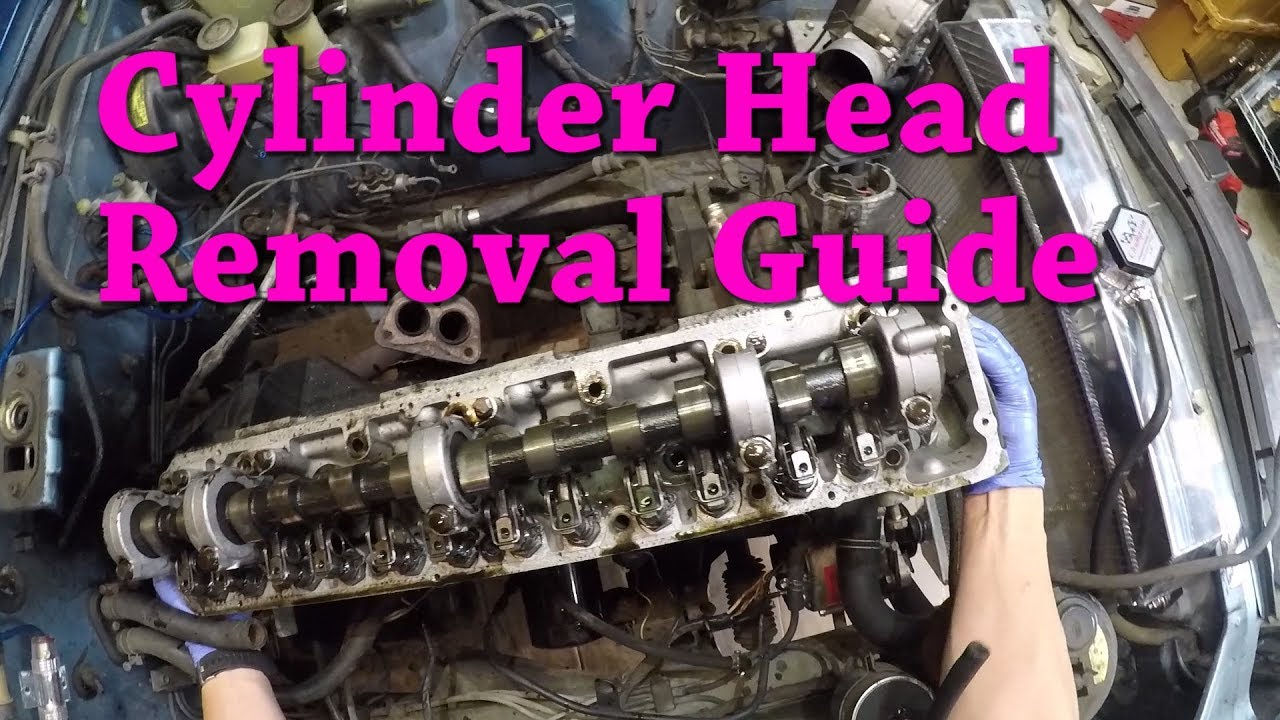 Datsun 280z Ep17 Removing The Cylinder Head Replacing Gasket Fuel Filter
