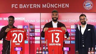 🎙️ Willkommen Bouna Sarr & Eric Maxim Choupo-Moting | Vorstellung mit Hasan Salihamidžić | FC Bayern