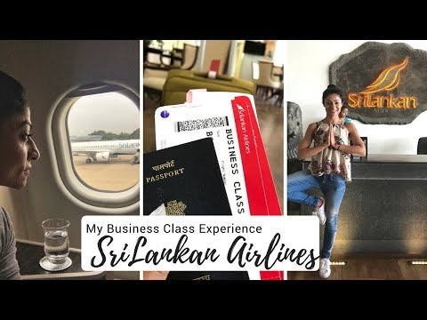 Business Class Experience SriLankan Airlines - Review #DesiMuscles