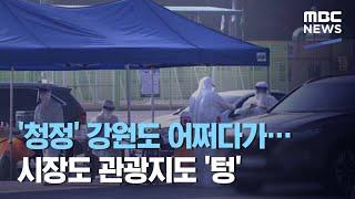 '청정' 강원도 어쩌다가…시장도 관광지도…