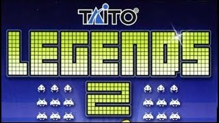 TAITO Legends 2, Game Roster : PC/Arcade(part 1)
