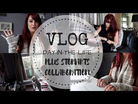 VLOG | Author Day-In-The-Life + Storiarts Collab