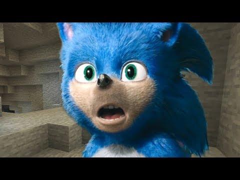 Sonic Trailer in Minecraft