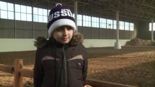 В конной - спортивной школе «Джигит» было проведено новогоднее представление.