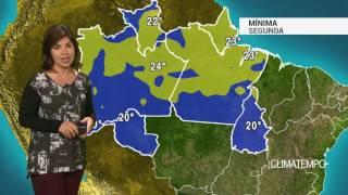 Previsão Norte – Chuva se intensifica em RR