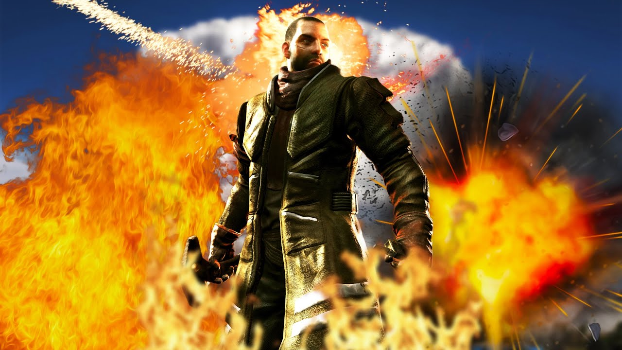 COOL GUYS DON'T LOOK AT EXPLOSIONS   Red Faction Guerrilla ...