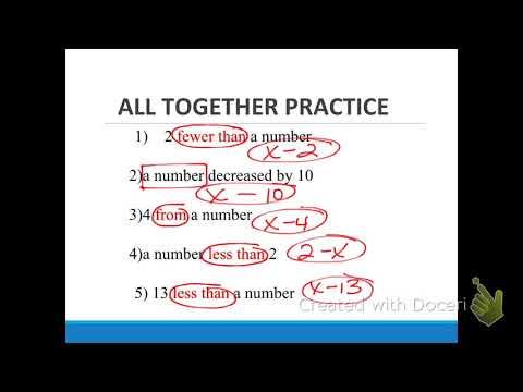 words into math turn around words youtube