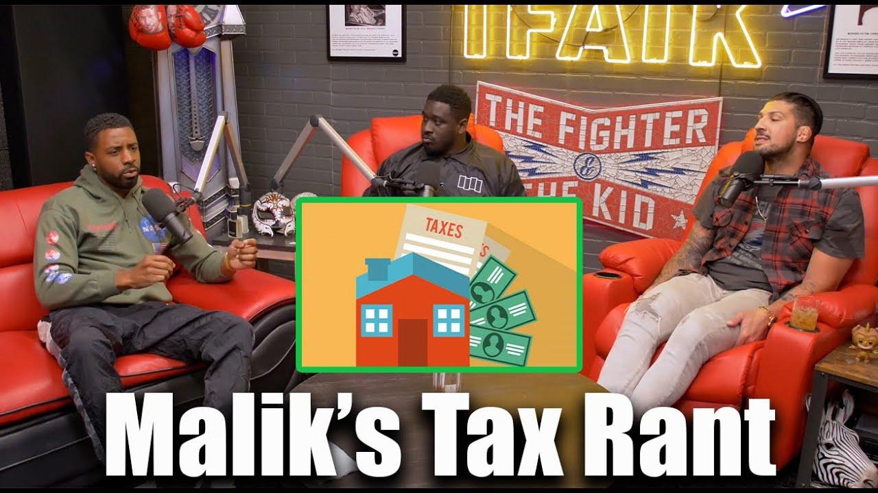 Malik Rants About Stimulus Checks and High Taxes   TFATKz