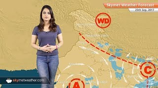 Weather Forecast for Sep 25: Rain in Bengaluru, Chennai, Kolkata; Delhi, Mumbai to be dry