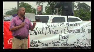 Sickle Cell Warrior Blood & Awareness Drive Opelousas, Louisiana