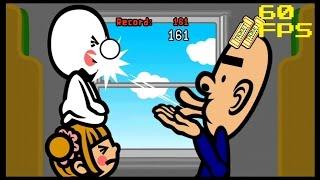 24a. [60 FPS] Munchy Monk - Endless Game - Rhythm Heaven Fever