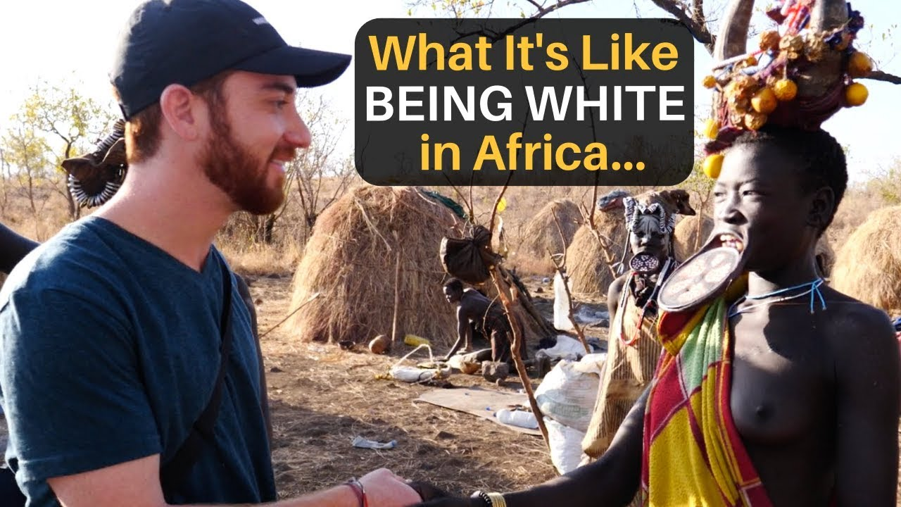 What It's Like Being White in Africa...