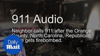911 audio: Orange County Republican office gets firebombed - Daily Mail