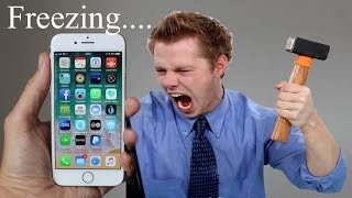 How to Fix iPhone 6/6s/7/8 Hang Issue Slow Down / Lag Problem