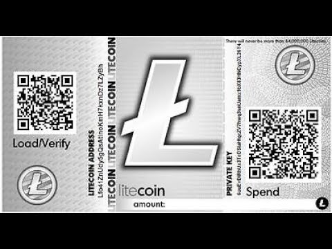 Generate and Recover Funds Using Secret Key From Litecoin Paper Wallet