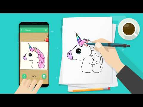 Kawaii Easy Drawing : How to draw Step by Step
