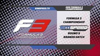 Oceanic F3 Championship | Round 5 | Brands Hatch