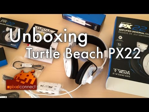 PS4 Unboxing Turtle Beach PX22 Headset [+PS4-Check]