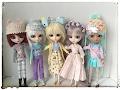 Pullip doll clothes accessories haul Shibajuku Girls fashion pack review