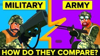 Army VS Military - How Do They Compare?