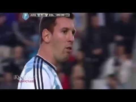Lionel  Messi Vomits Again_Argentina vs Slovenia