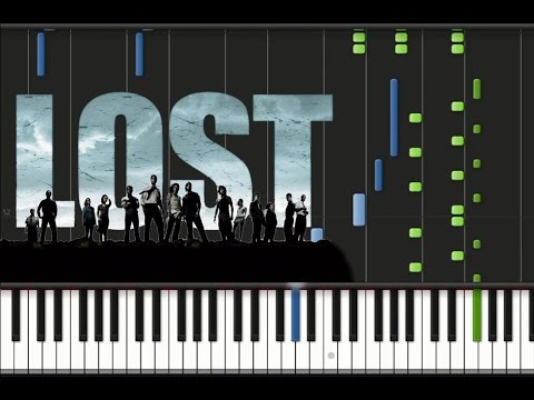 OST Lost - Theme Song Synthesia Tutorial